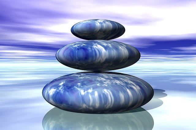cómo iniciarse en la meditación piedras
