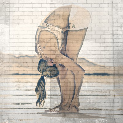 pinza de pie posturas de yoga eficaces