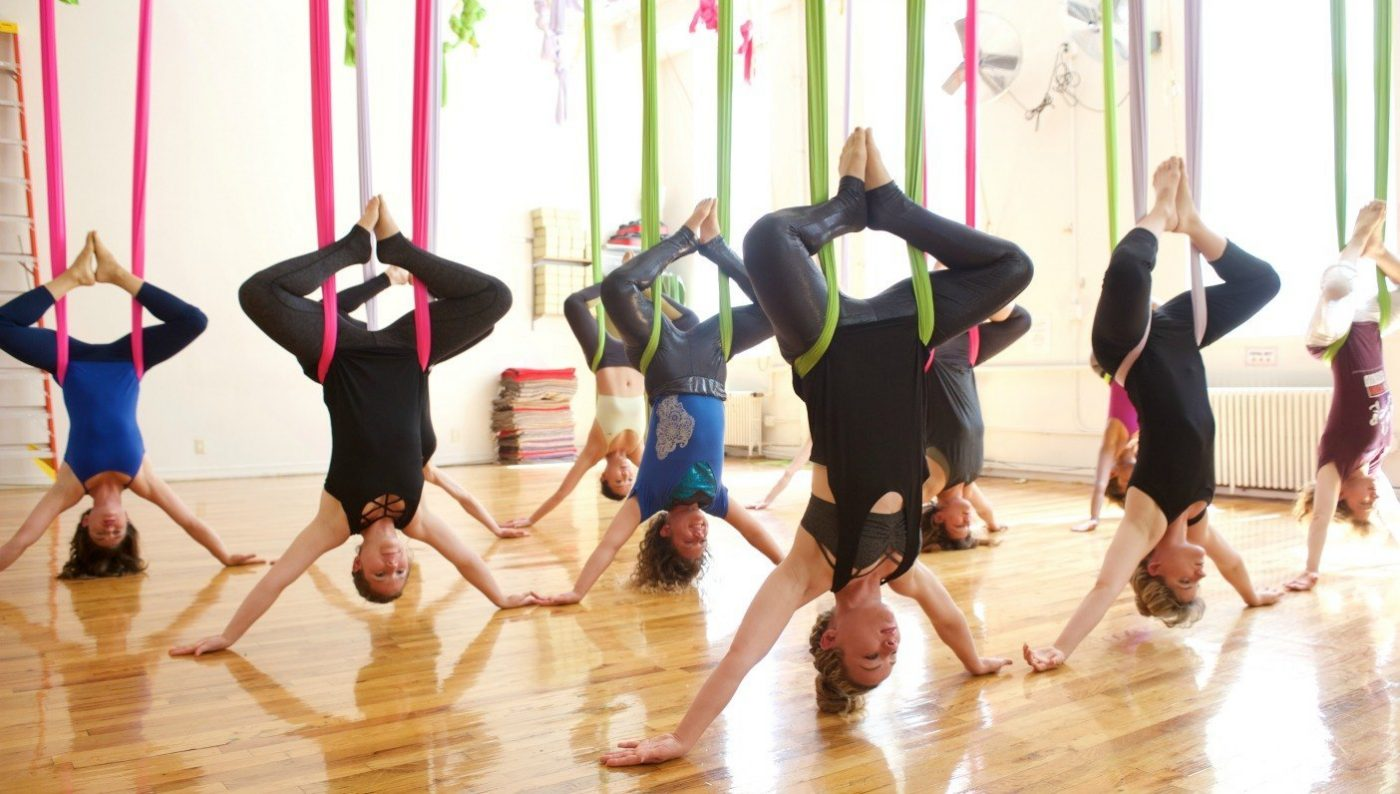 yoga aéreo 2