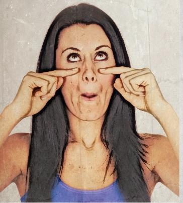ejercicios yoga facial
