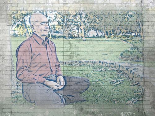 mirada meditacion