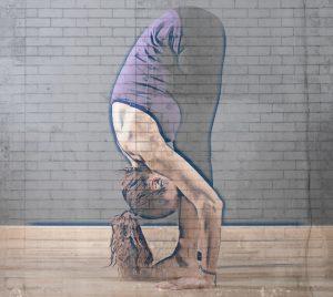 pies en las posturas de yoga-Uttanasana