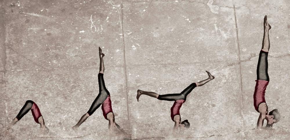 posturas avanzadas de yoga pavo real
