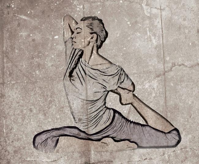 posturas avanzadas de yoga sirena