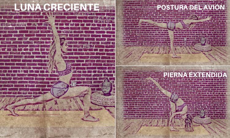 posturas de yoga para glúteos mayor