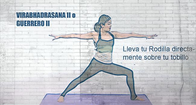 proteger en las posturas de yoga rodillas 1b