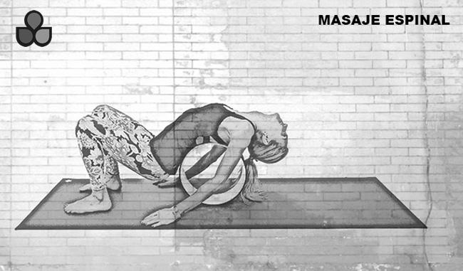 maneras de usar una rueda de yoga 1