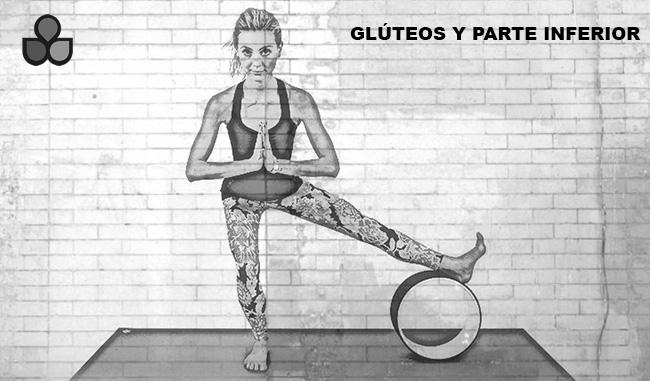 maneras de usar una rueda de yoga 7
