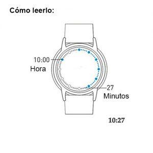 reloj futurista del árbol de la vida 4a