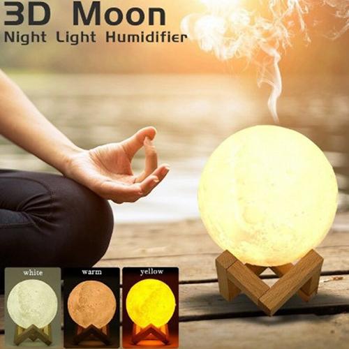 Lámpara Lunar con Difusor de Aromaterapia 1